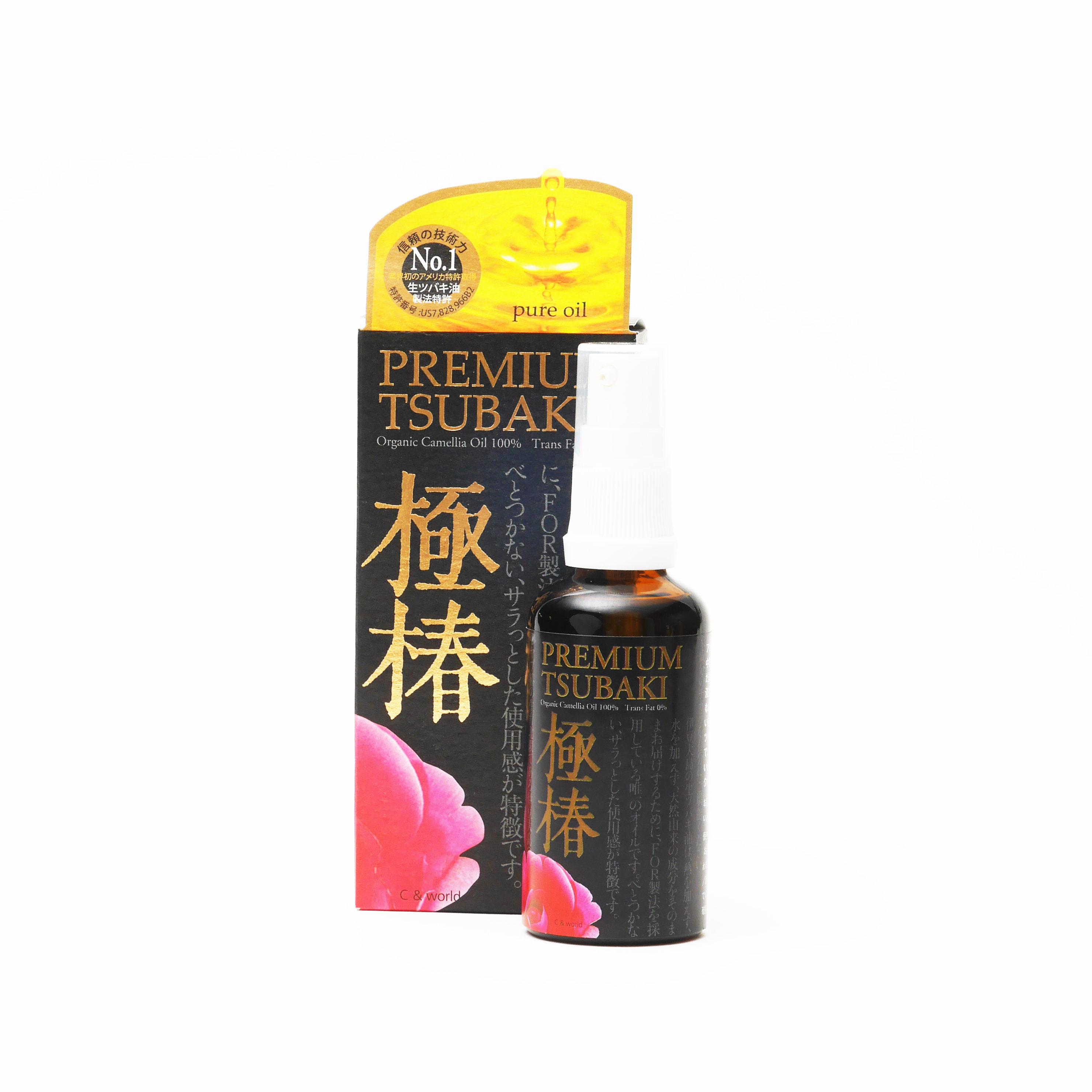 プレミアムツバキ生ツバキ油極椿 (50ml) ラベンダーの香