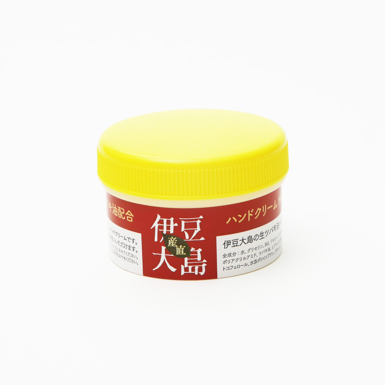 伊豆大島の生ツバキ油ハンドクリーム60g サラッとタイプ お顔にもお勧め 2個、5個パックあります。